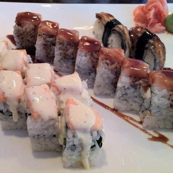 Unagi, Tokyo Roll, Boston Salmon Roll @ Mitaka Restaurant