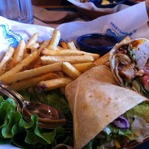 Chicken Club Wrap @ Islands Fine Burgers & Drinks