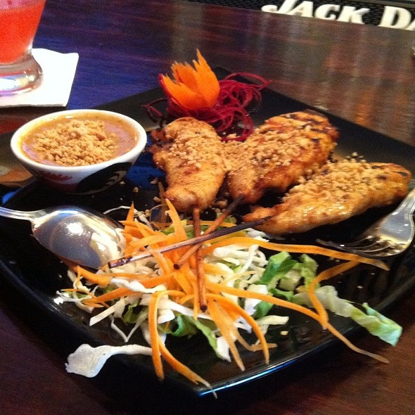 Chicken satay @ Jazmine Restaurant