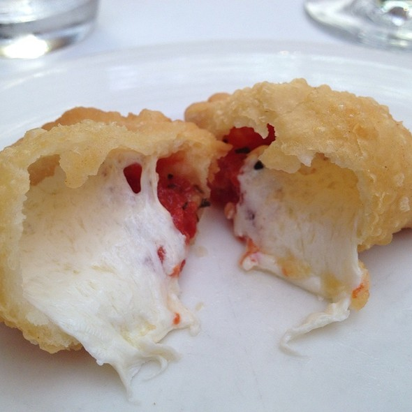 Mini Calzone With Tomato, Mozzarella And Basil - I Trulli, New York, NY