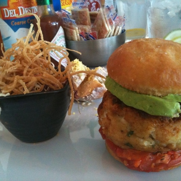 Crabcake Sandwich @ The Sandbar