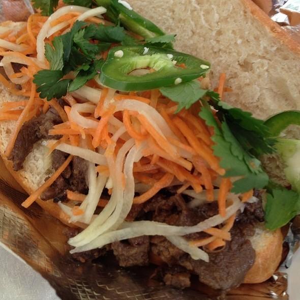 Banh Mi Sandwiches At Gogi's Korean Bbq! @ GoGi's Korean BBQ