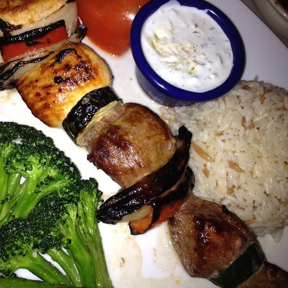 Shish-Kabob @ Baklava Restaurant