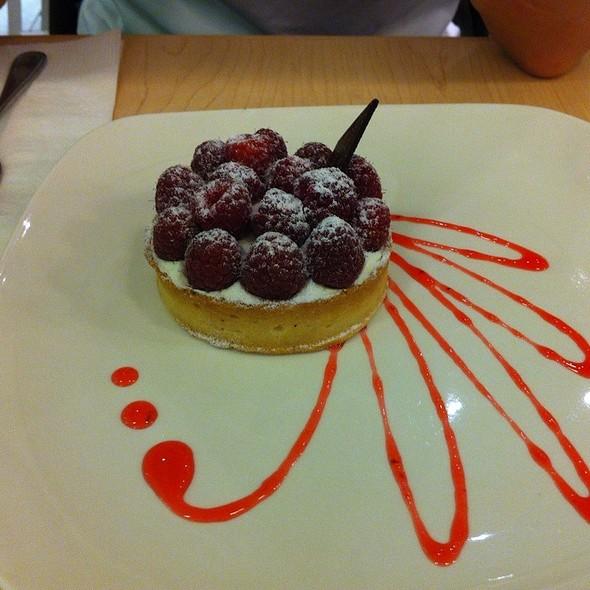 Raspberry Tart @ Pastel creperie & dessert house