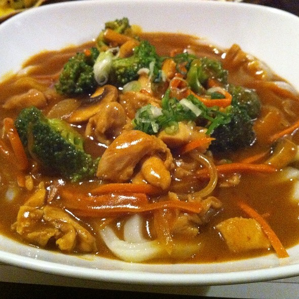 chicken curry udon @ AKKI Grill & Bar