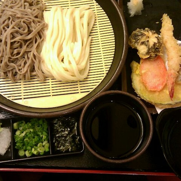 Cold Udon And Soba Noodles @ Kazokutei (Plaza Singapura)