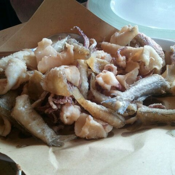 fritto misto di pesce @ All'Armanda
