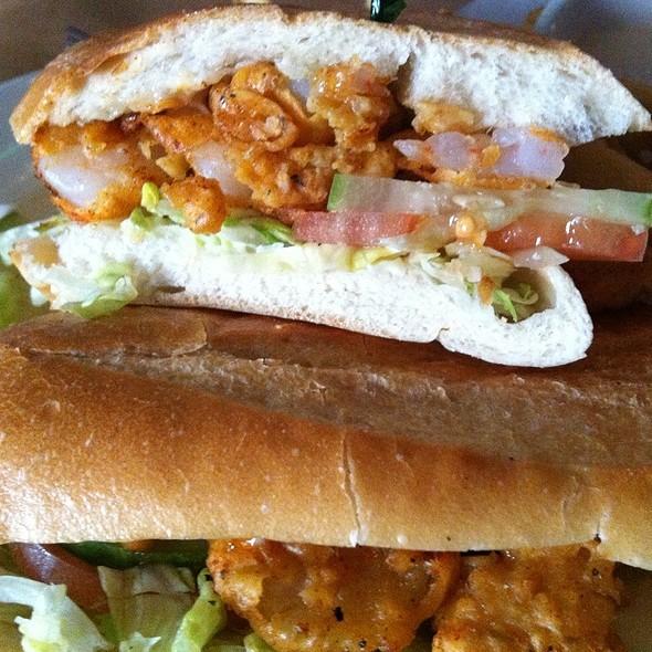Fried Shrimp Po' Boy @ Delta Grill