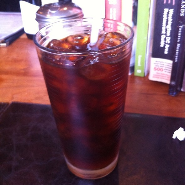 Iced Coffee @ Grape + Bean