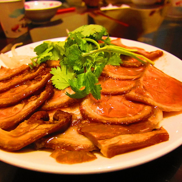 Chilled pork picnic slices. @ 張吳記什錦麵