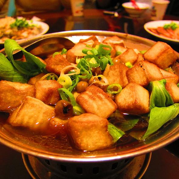 Egg Tofu Stew @ 張吳記什錦麵