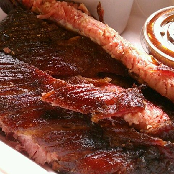 pork ribs @ Big Daddy's BBQ
