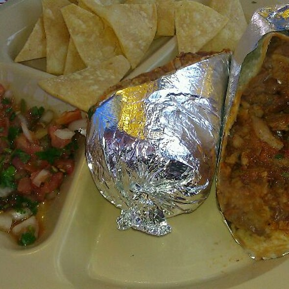 Al Pastor Burrito @ Pinches Taco