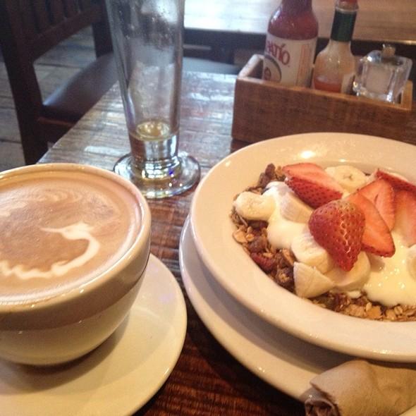 Yogurt with Fruit @ Grove Cafe