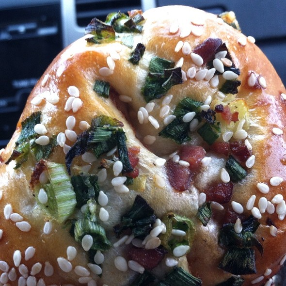 Green Onion & Pork Sung Bun @ 99 Ranch Market