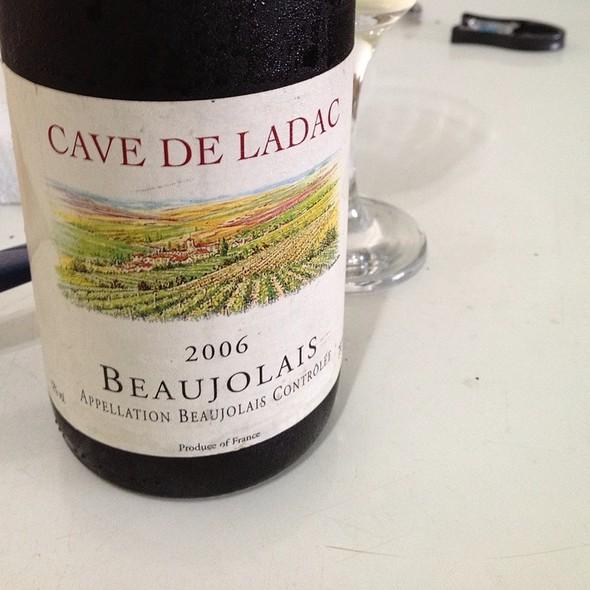 Vinho 'Cave De Ladac - Beaujolais - 2006' @ Mi Casa