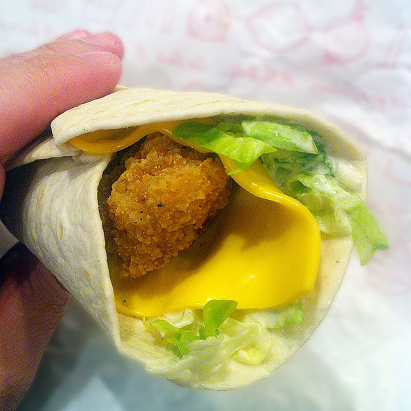 Chicken And Cheddar Wrap @ McDonald's