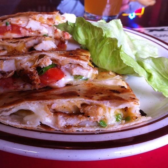 Chicken Quesadilla Grande @ The Grill