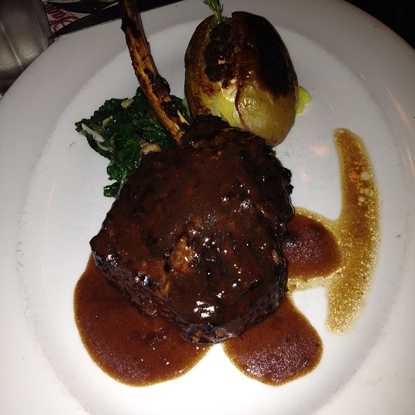 Stuffed Veal Chops @ Sage Bistro
