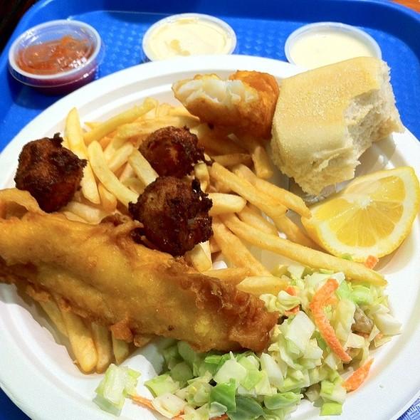 Fish And Scallop Plate @ Fish-O-Licious