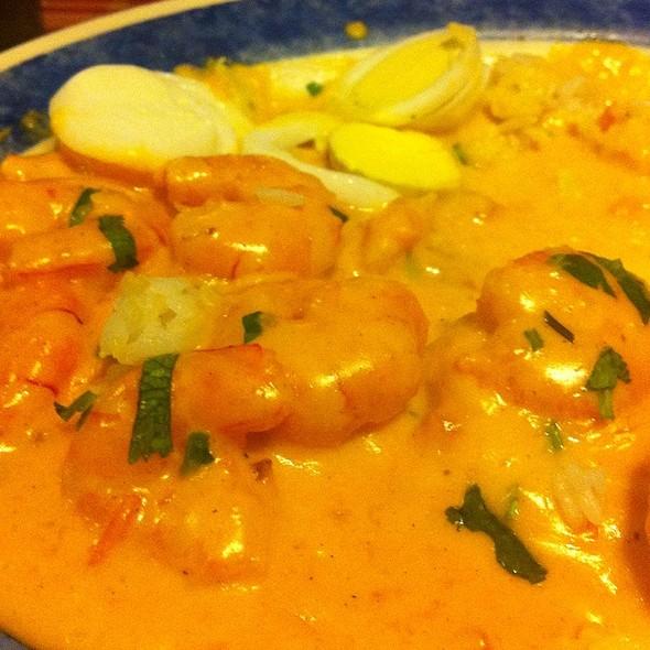Chupe De Camarón @ El Salto Del Fraile - Peruvian Restaurant