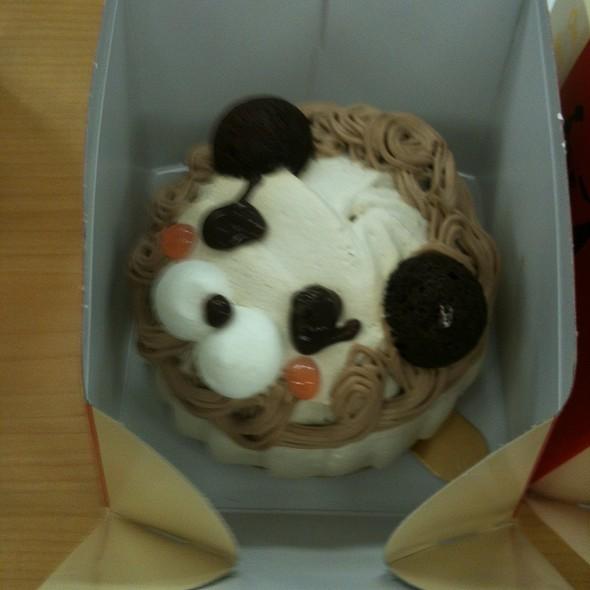 Lion Cake @ Chocoholic cafe