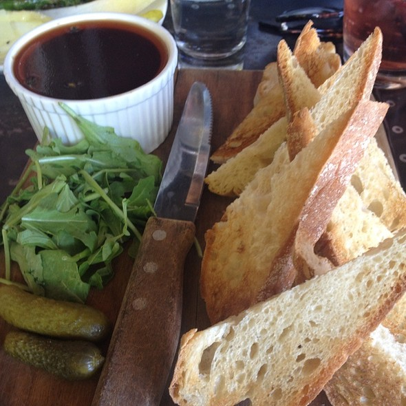 Brandied Chicken Liver Pate and Toasts @ The Winery
