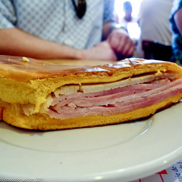 Sandwich @ Exquisito Restaurant