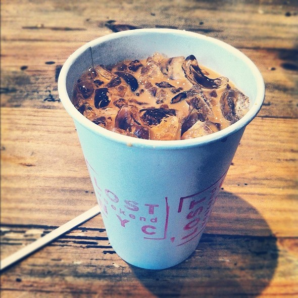New Orleans Iced Coffee (Blue Bottle) @ Lost Weekend NYC