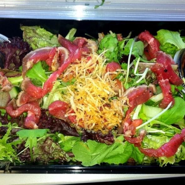 Kobe and Coriander Salad @ Kaizen Sushi Bar & Restaurant