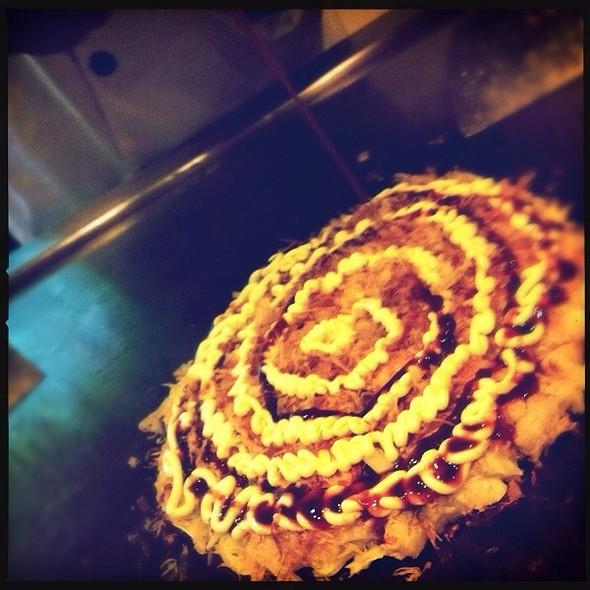 Okonomiyaki @ isshin japanese restaurant