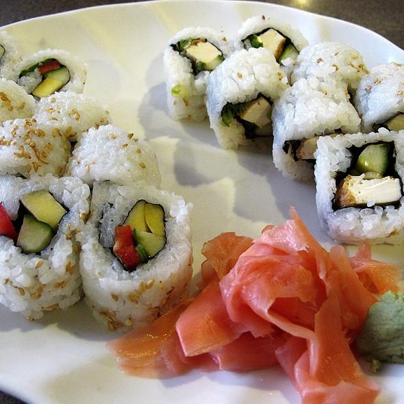 tropical & Korean tofu rolls @ Lan Pan Asian Cafe
