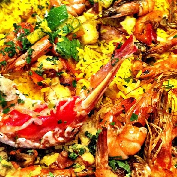 Seafood Paella @ Spettus Grill