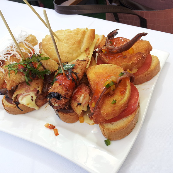 Assorted Pinchos Goodness