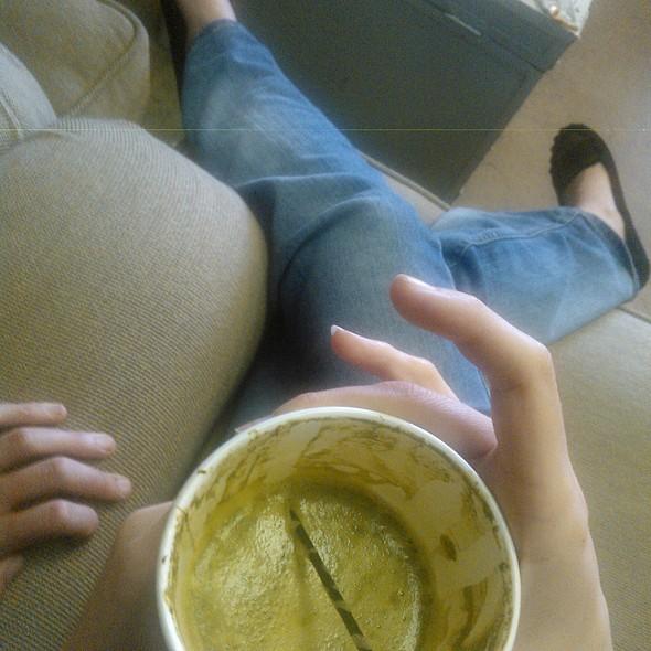 Green Tea Latte @ Good Measure