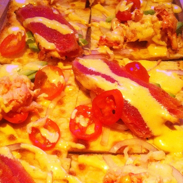 Lobster Ahi Flatbread - Kona Grill - Richmond, Glen Allen, VA