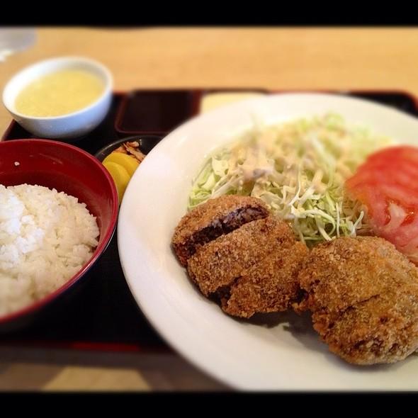 Menchi Katsu Bento @ Oki Doki Restaurant