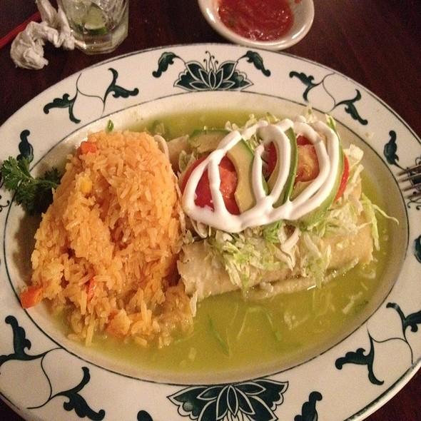 Enchiladas Verdes @ Las Delicias