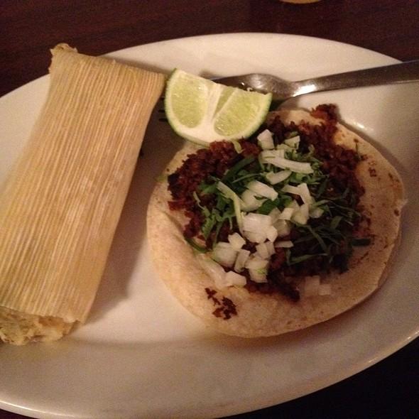 Chorizo Tacos @ Las Delicias