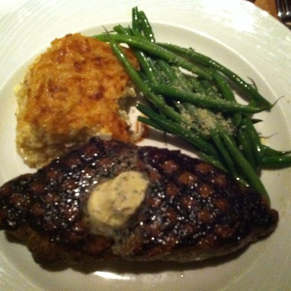 New York Strip @ Piñon Grill