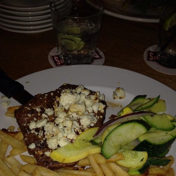 Bleu Cheese Steak Tenderloin @ Peppino's Sports Grille & Pizzeria