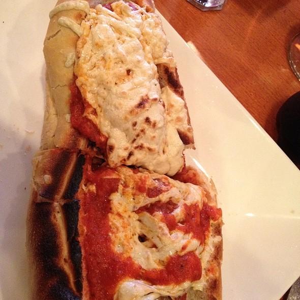 Vegan Seitan Parmesan Hero @ 3 Brothers Pizza Cafe