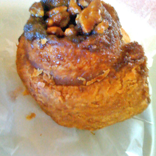 Sticky bun @ A & J King Artisan Bakers