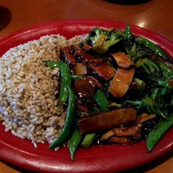 Ginger Broccoli @ pei wei