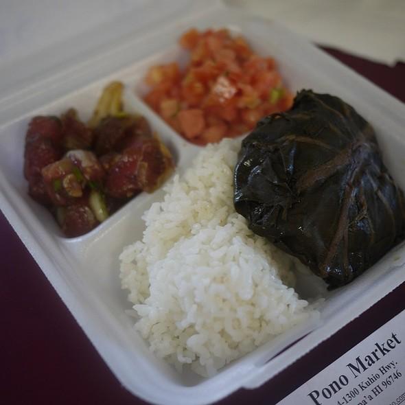 Plate Lunch @ Pono Market