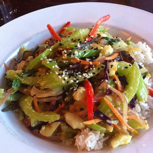 Vegetable Curry Rice @ swiss bear