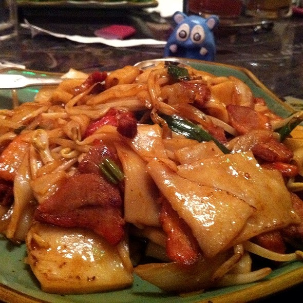 drunken noodle @ Young Chow