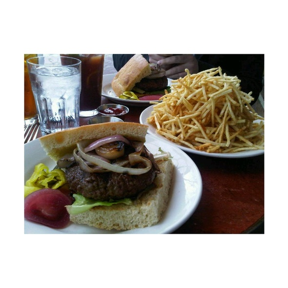 Burgers and Fries @ Zuni Cafe