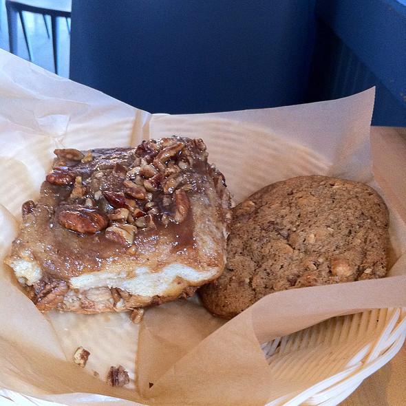 Walnut Sticky Bun @ Flour Bakery & Cafe