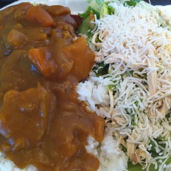 Chicken Curry W/China-style Chicken Salad